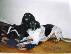 Januari 2002: Floran, Sascha en Jessie
