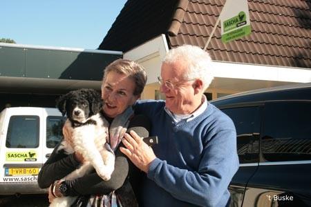 Hannalize en haar man zijn blij met hun Does (Rivan) Zij gaat naar Twello