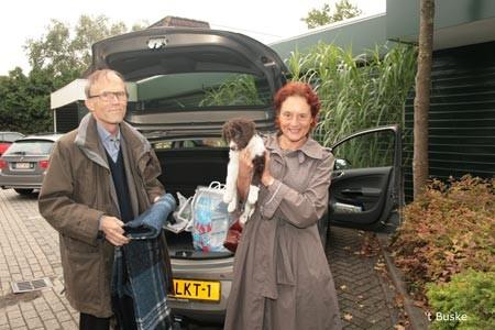 Berber reist naar Hilversum bij Marten en Joy